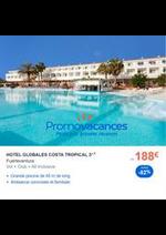 Prospectus Promovacances : Vacances de la Toussaint