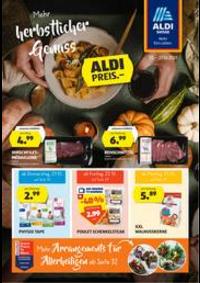 Prospectus Aldi Allschwil - Binningerstrasse  : Aldi reklamblad