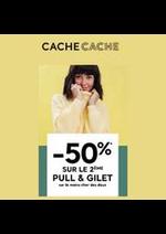 Promos et remises Cache Cache : Cache Cache -50%