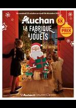 Prospectus Auchan : La fabrique à jouets!