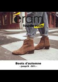 Prospectus Eram BESANCON : Boots d'Automne l Jusqu'à -50%