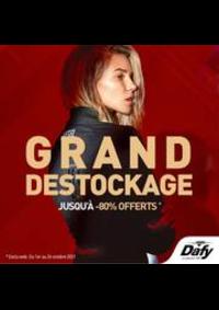 Prospectus DAFY MOTO ARCHAMPS : GRand Destockage
