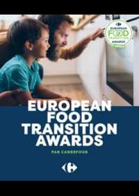 Prospectus Carrefour CHARENTON LE PONT : European Food Transition Award