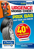 Prix bas sur tous les pneus - E.Leclerc